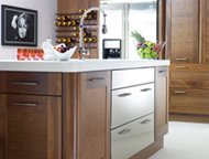 Burbidge Kitchen with Steel Doors