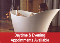 Daytime and evening appointments available